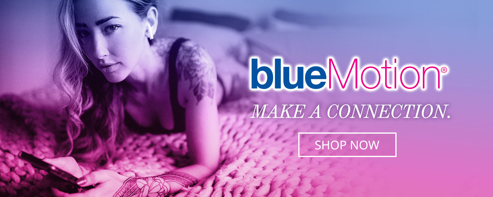 blueMotion Bluetooth® app-connected vibrator