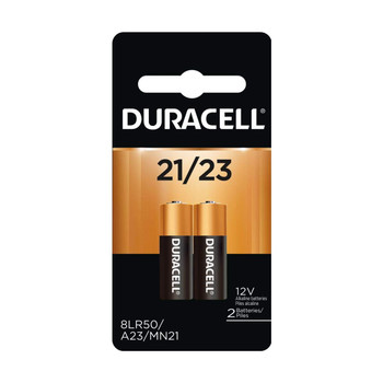 An image of a package of two 12 volt duracell batteries