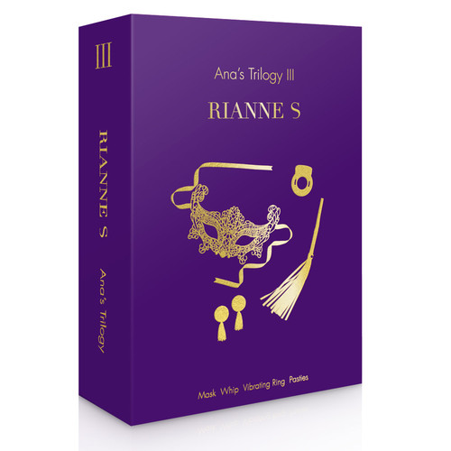 Side View of the Rianne S Ana's Trilogy Kit 3 Box on a white background
